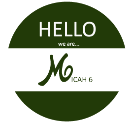 Name tag for Micah 6