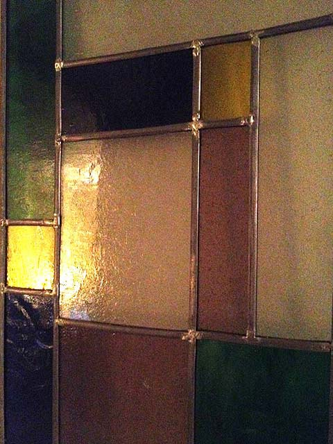 Photo of stained glass panel